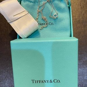 New in box Tiffany & Co Sterling Silver Necklace